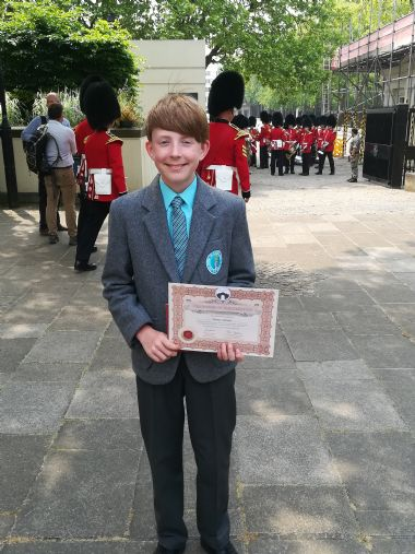 Pupil Scoops Prize from Prime Minister for Award-Winning Poem